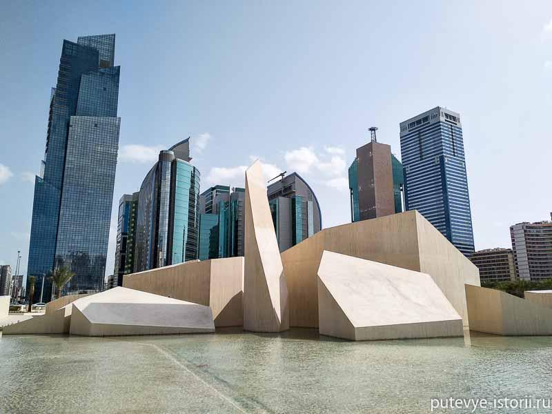 монумент наследия в Абу-Даби
