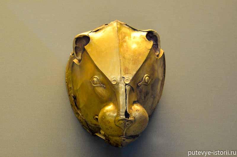 золото древних греков