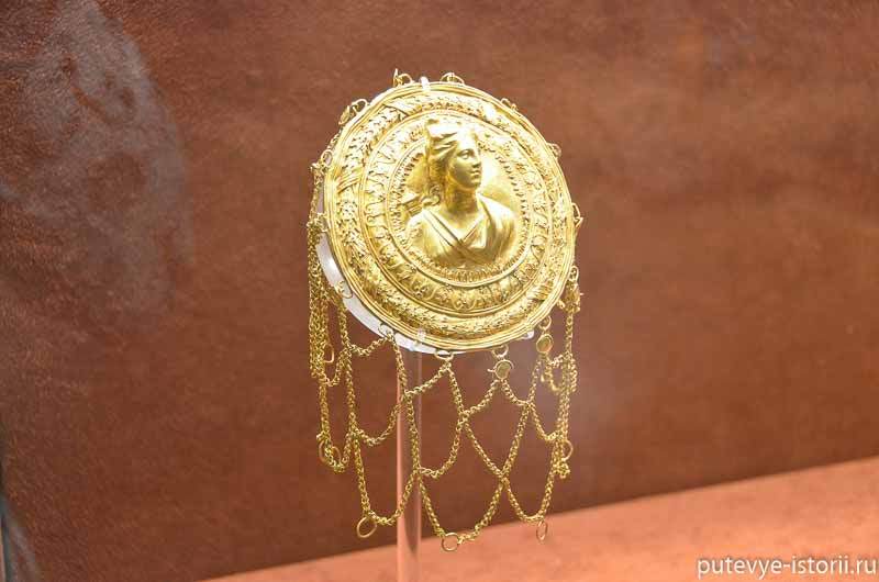 древнегреческие ювелирные изделия