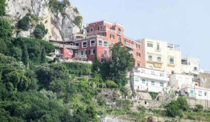 Где жил Горький на Капри