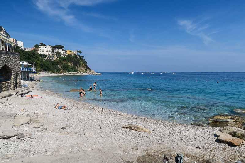 капри пляжи марина пиккола
