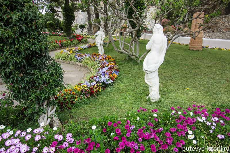 капри сады августа