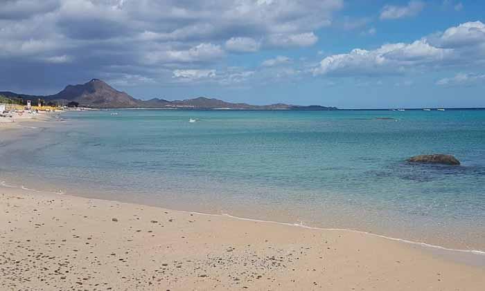 сардиния пляж коста рей