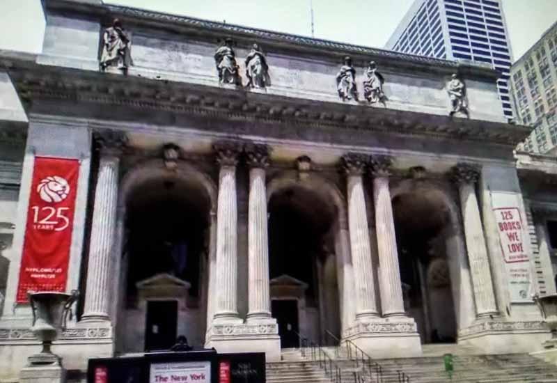 нью-йорк библиотека