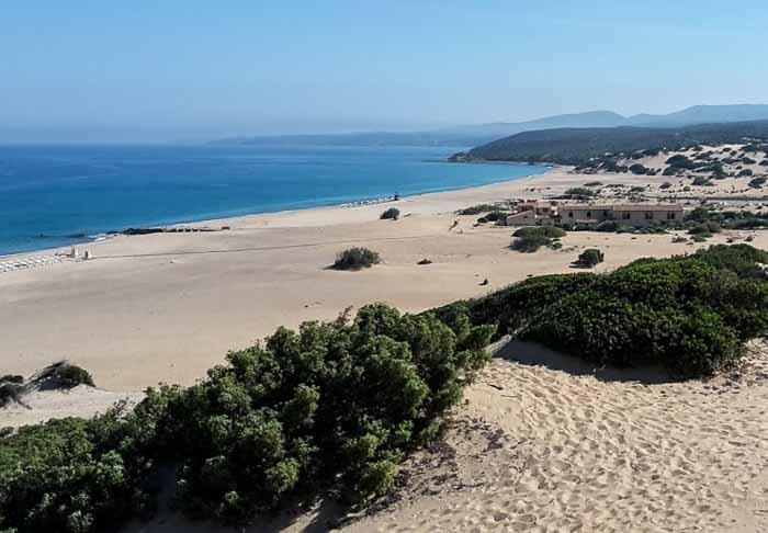 сардиния пляж пишинас
