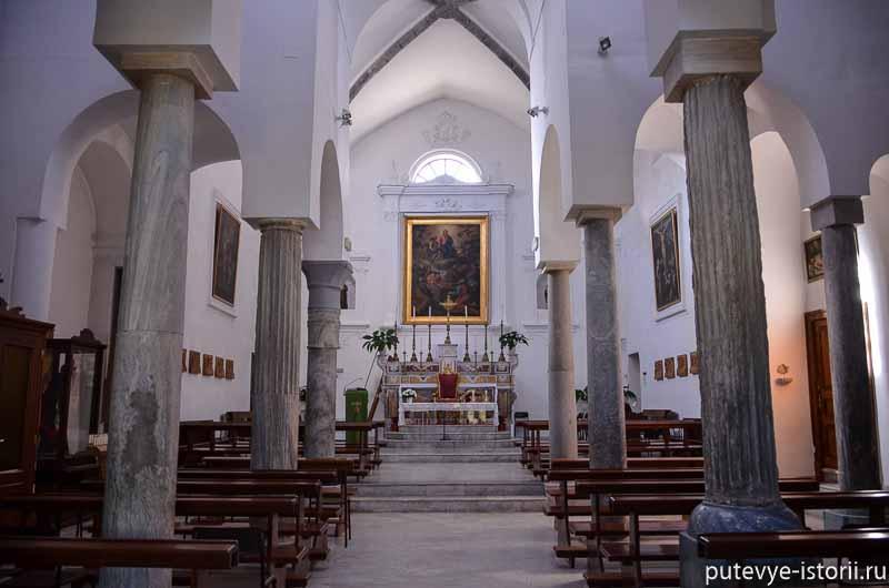 капри церковь сан-констанцо