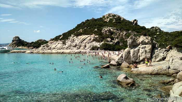 сардиния архипелаг маддалена