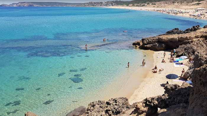 сардиния пляжи