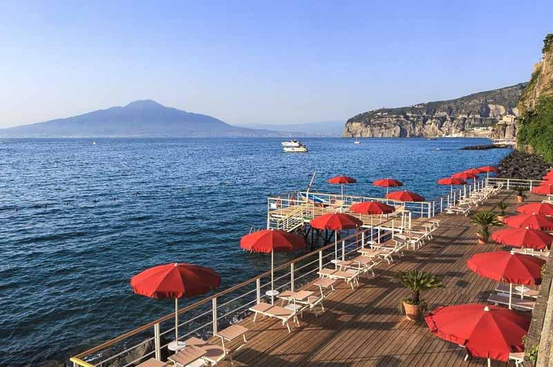 сорренто отель с пляжем