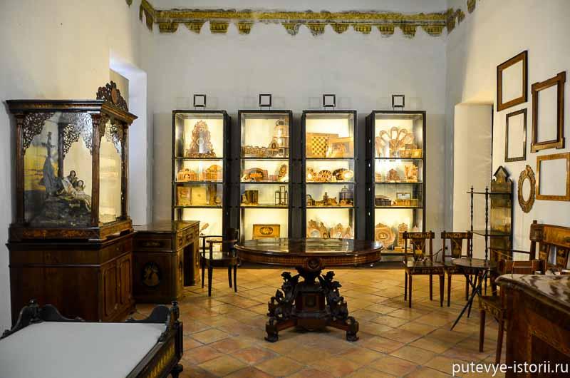 сорренто музей интарсии