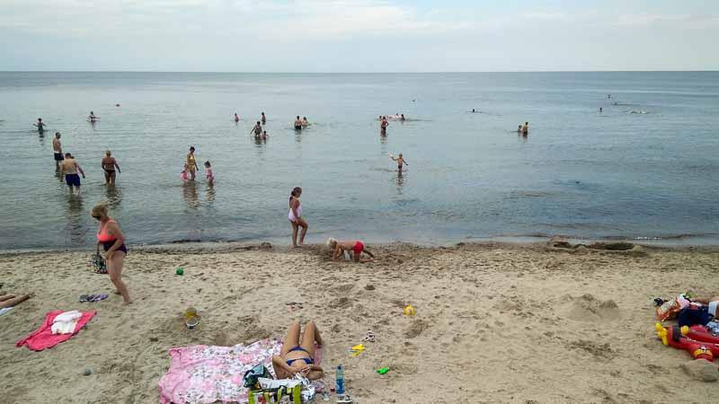 пляжный отдых в зеленоградске
