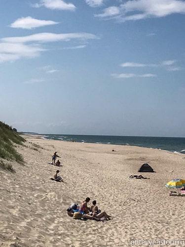 зеленоградск пляжи
