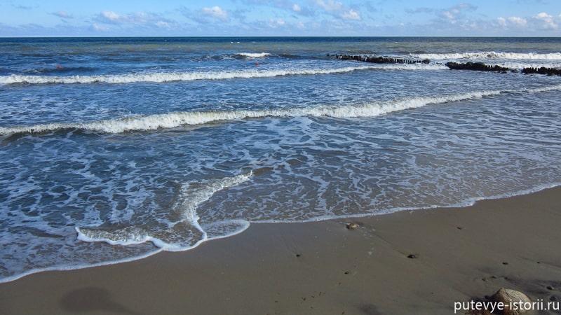 зеленоградск пляж самбия