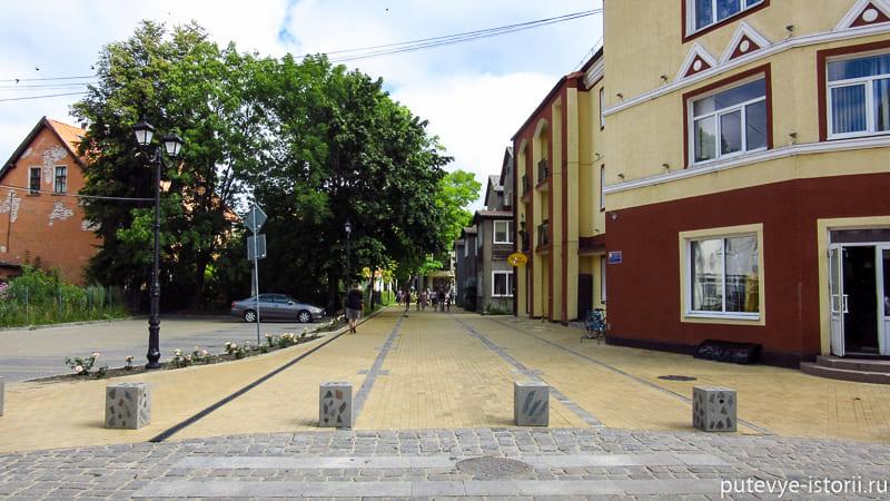 зеленоградск улицы