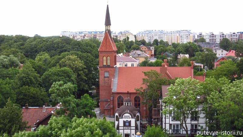 город зеленоградск кирха