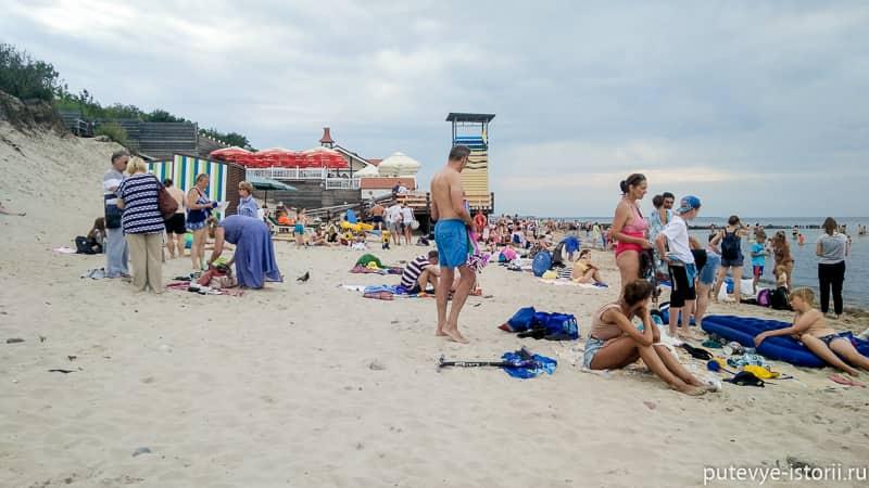 зеленоградск пляж сковородка