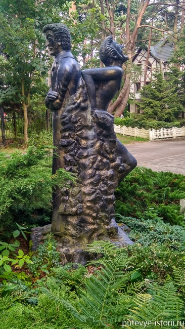 светлогорск памятник гофману