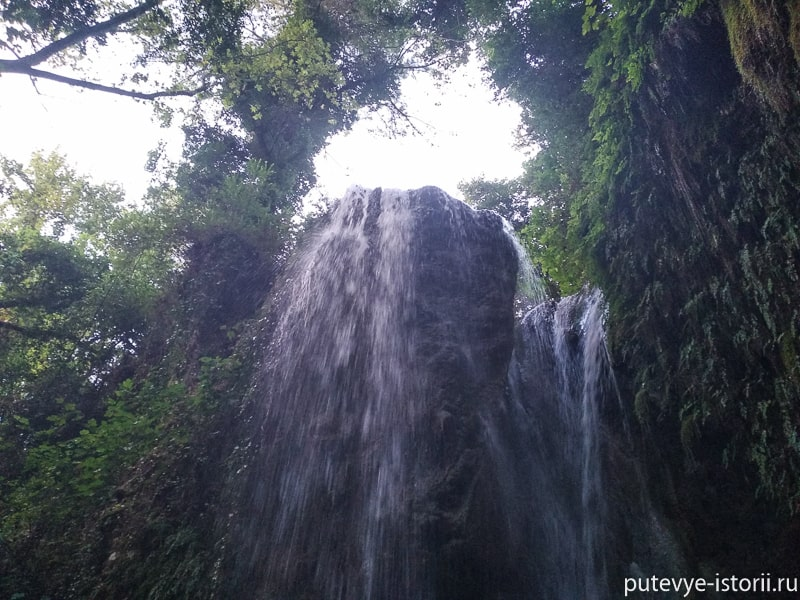 гизликент водопад