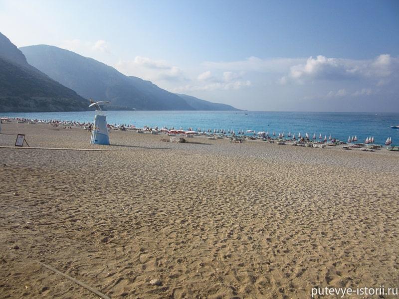 олюдениз пляж
