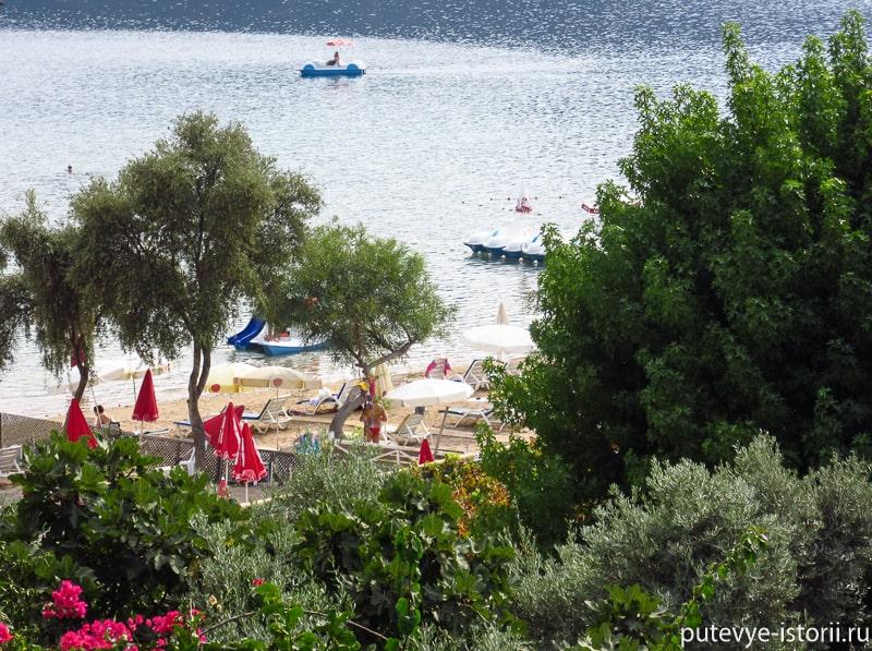 олюдениз пляжные клубы