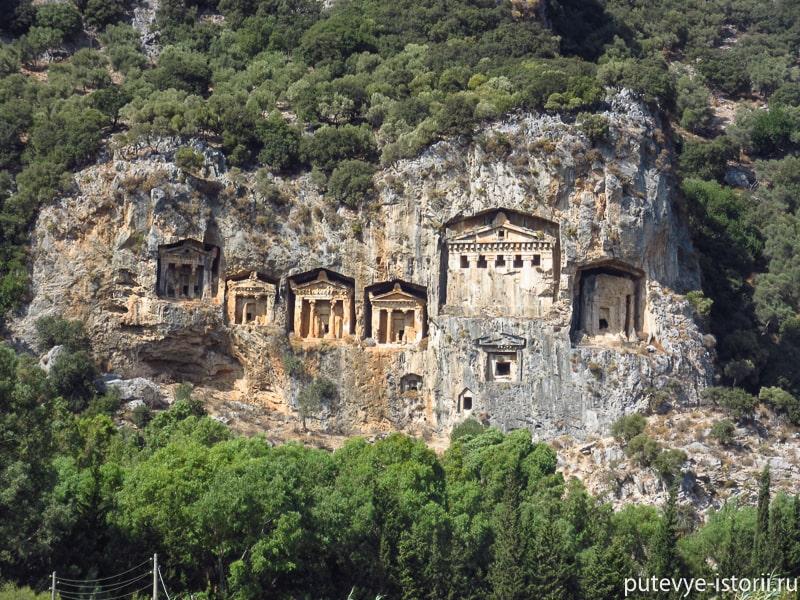 дальян ликийские гробницы