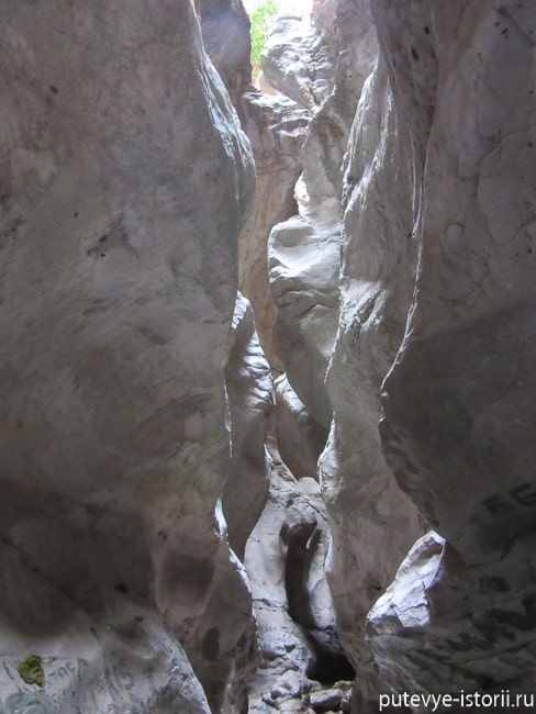 каньон саклыкент
