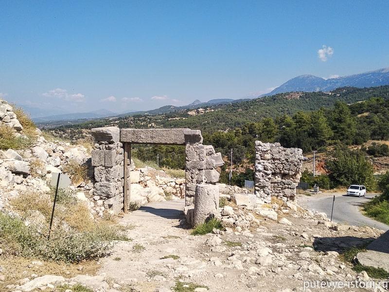 тлос древний город