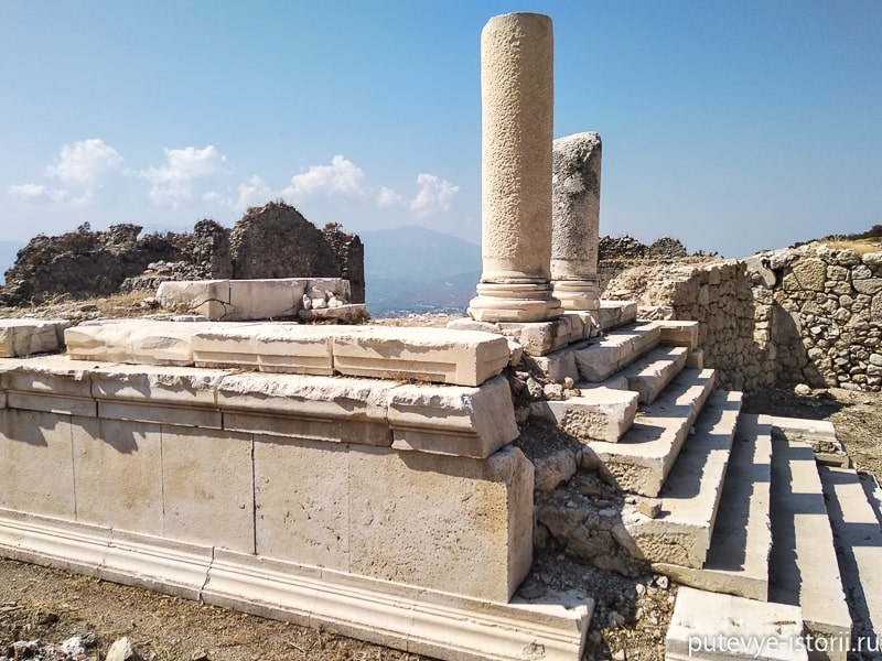 тлос храм кроноса