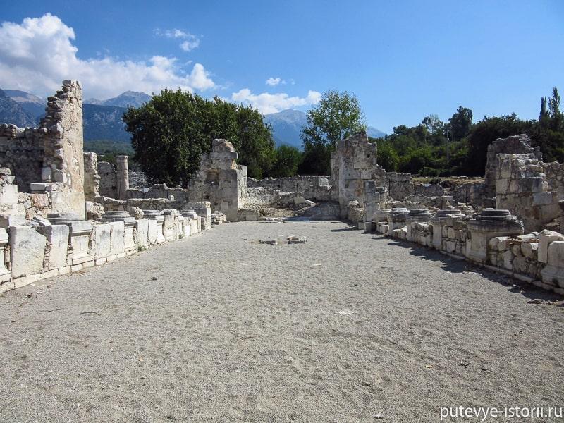 древний город тлос базилика
