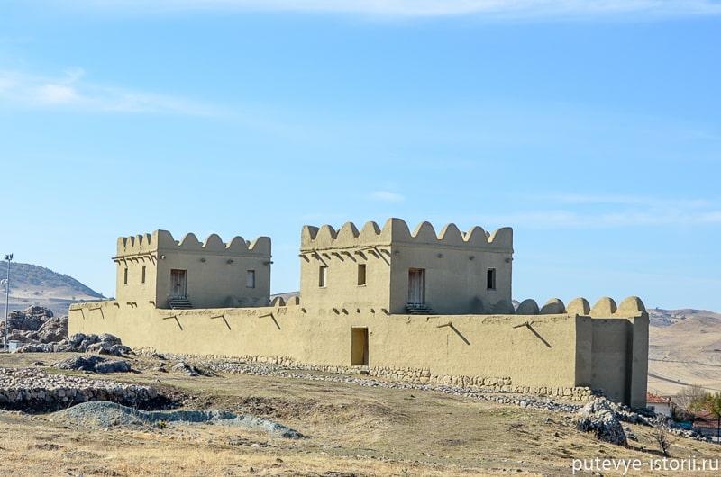 хаттуса крепостная стена