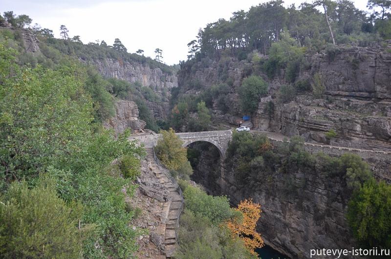каньон кепрюлю мост олук