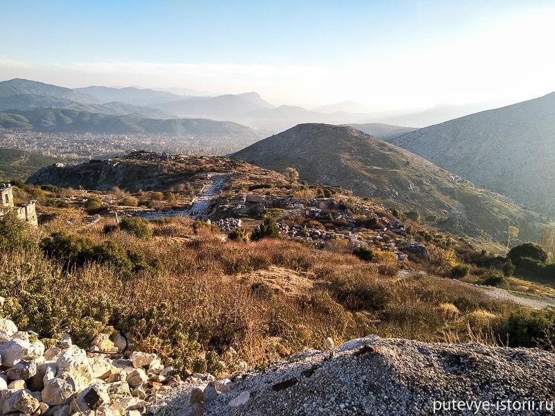 сагалассос холм Александра