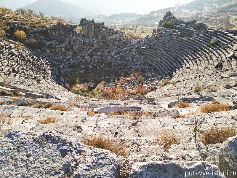 сагалассос театр