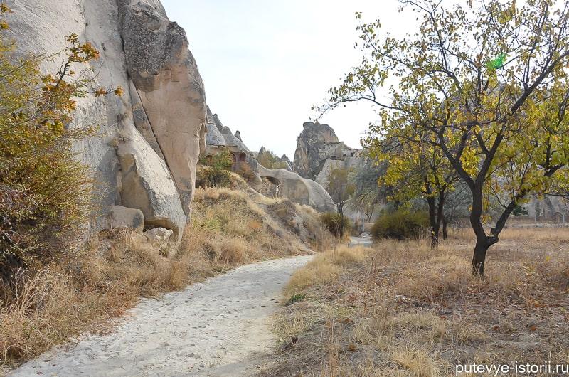 долина мечей каппадокия