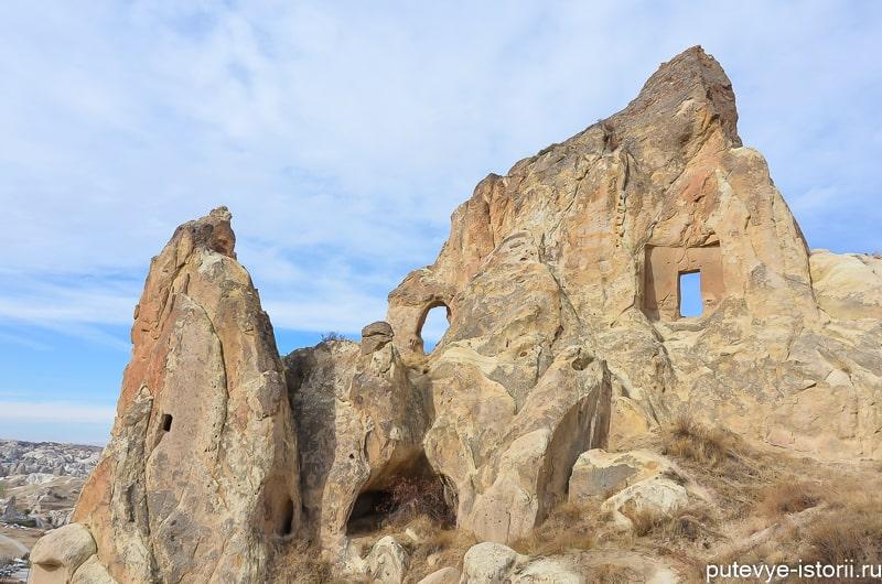 каппадокия церковь в скале