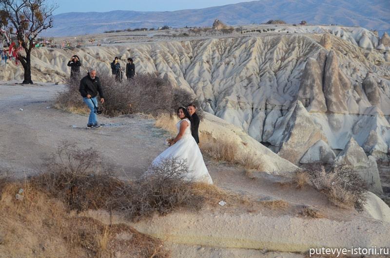 свадьба в каппадокии фото