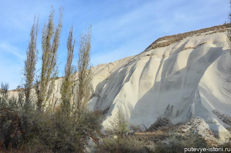 белая долина в каппадокии