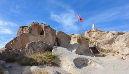 Учхисар, город и крепость