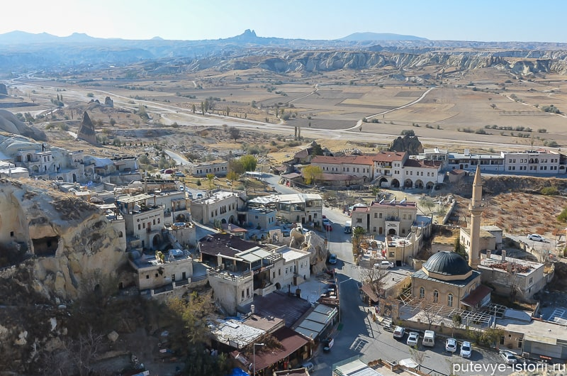 чавушин скальный город