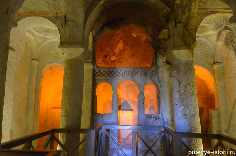каппадокия пещерные церкви