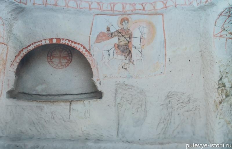 пещерные церкви каппадокии