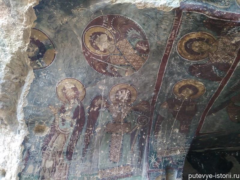 долина ихлара церковь святого георгия