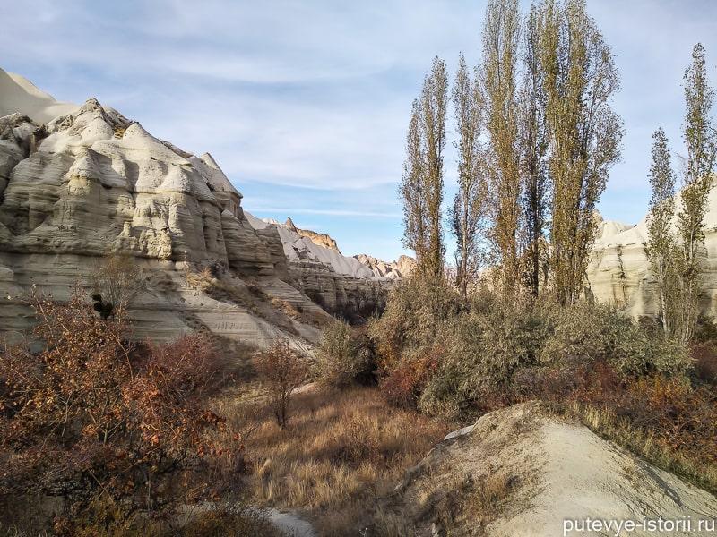 белая долина каппадокия пеший маршрут