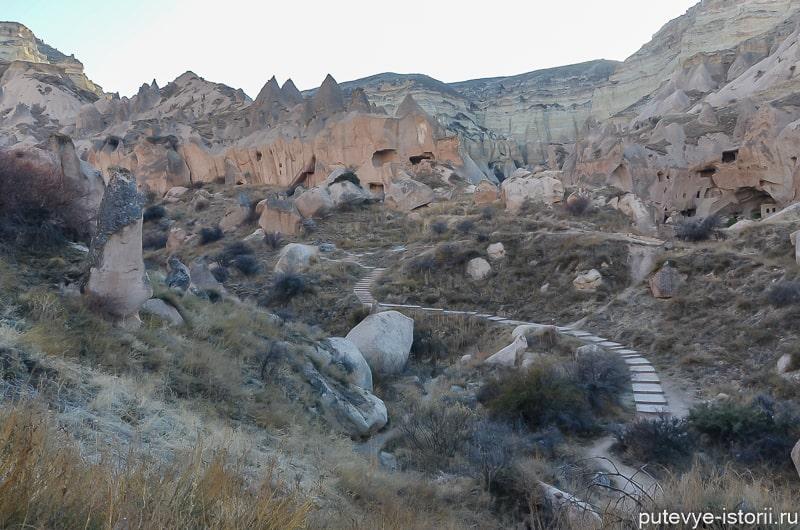 долина зельве каппадокия