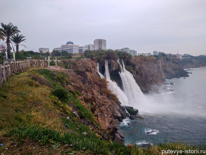 анталья дюденский водопад