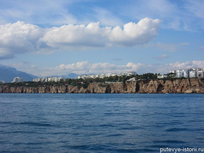 берег анталии