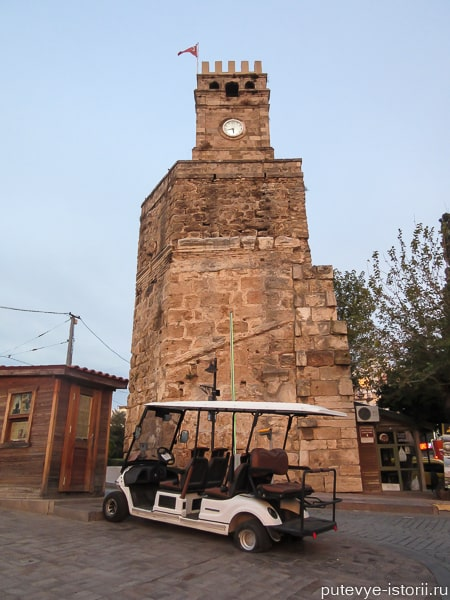 достопримечательности анталии часовая башня