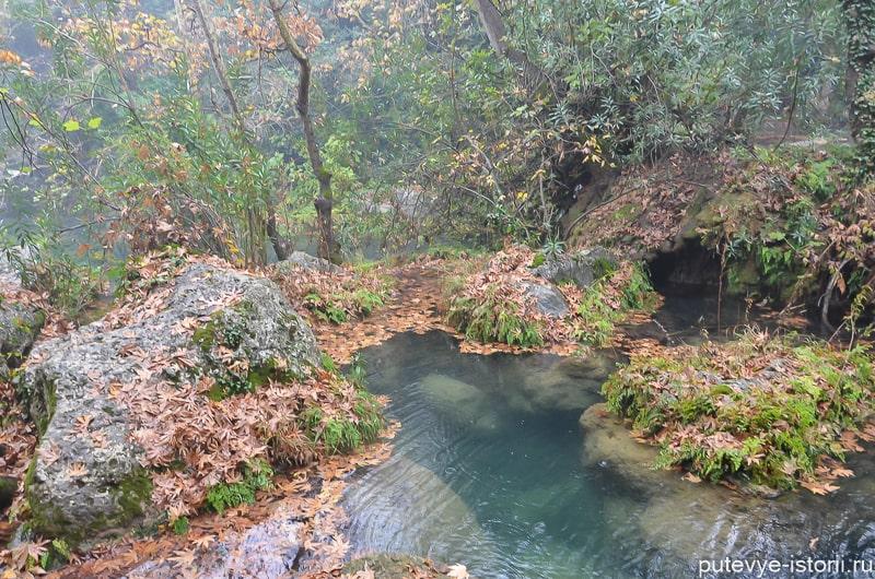 водопад куршунлу турция