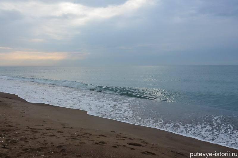 пляж лара анталья