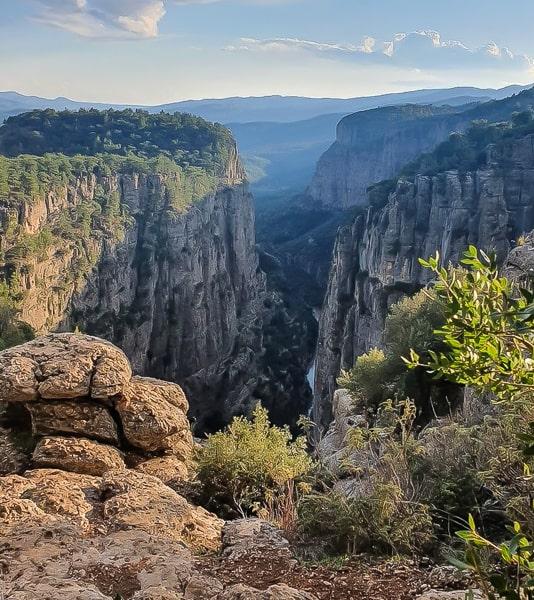 что посмотреть в окрестностях анталии каньон тазы